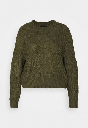 PCRACHEL O NECK - Jumper - grape leaf