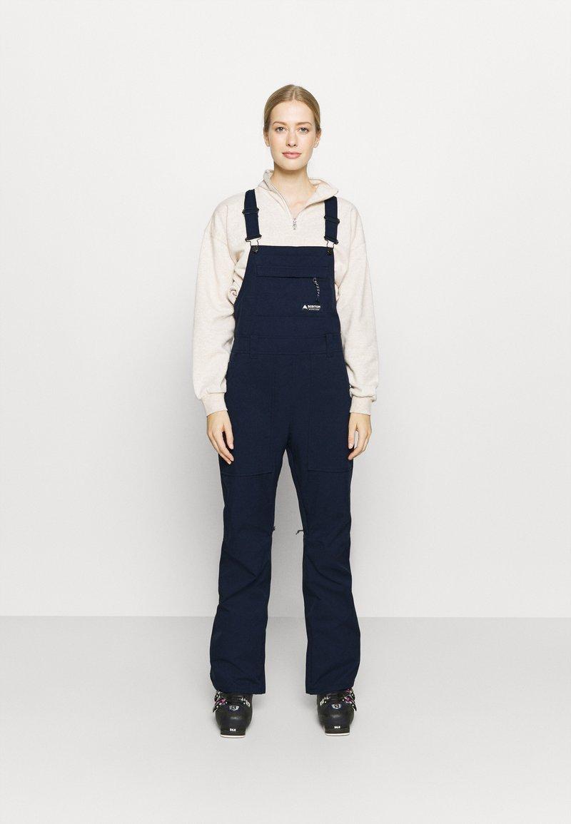 Burton - AVALON BIB  - Snow pants - dress blue