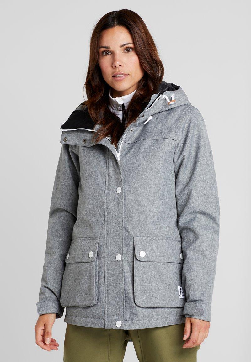 Wearcolour - IDA JACKET - Snowboardjakke - grau