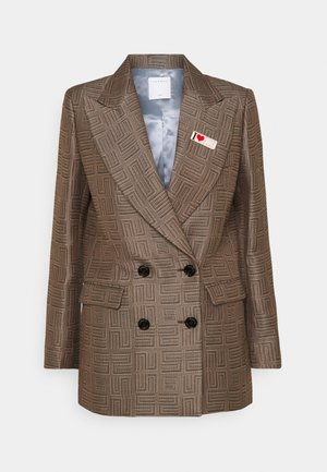 Short coat - marron/noir