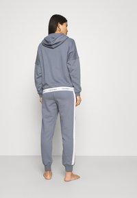 Calvin Klein Underwear - MODERN LOUNGE FULL ZIP HOODIE - veste en sweat zippée - pewter - 2