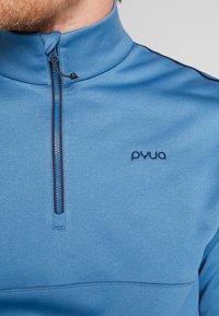 PYUA - SPIN - Fleece jumper - stellar blue - 3