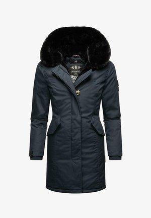 KARAMBAA - Winter coat - blue melange