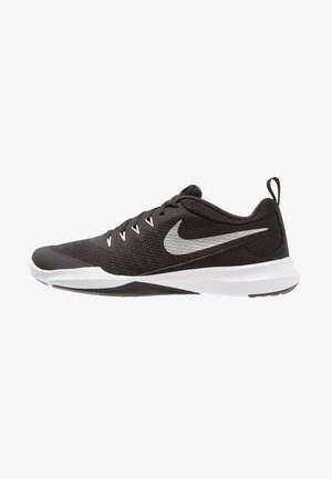 LEGEND TRAINER - Sports shoes - black/metallic silver/white