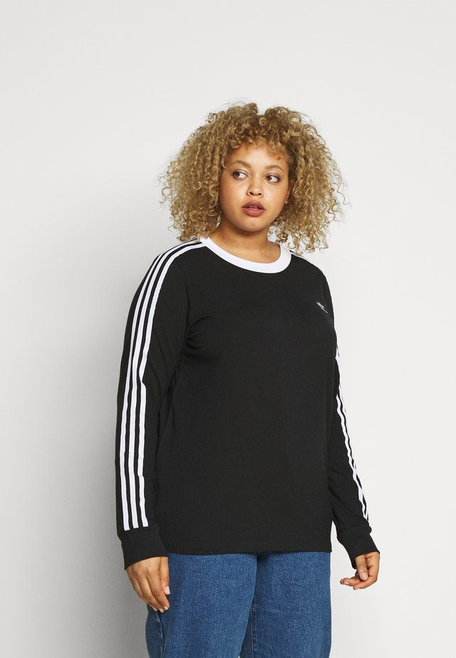 Långärmad tröja - black/white