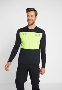 Fox Racing - DEFEND DELTA LUNAR - Sports shirt - day glow yellow - 0