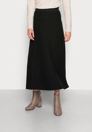 KAIA - A-line skirt - black