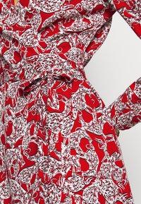 Diane von Furstenberg - SAVILLE - Vapaa-ajan mekko - lace red - 4