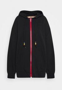 N°21 - Zip-up hoodie - black - 0
