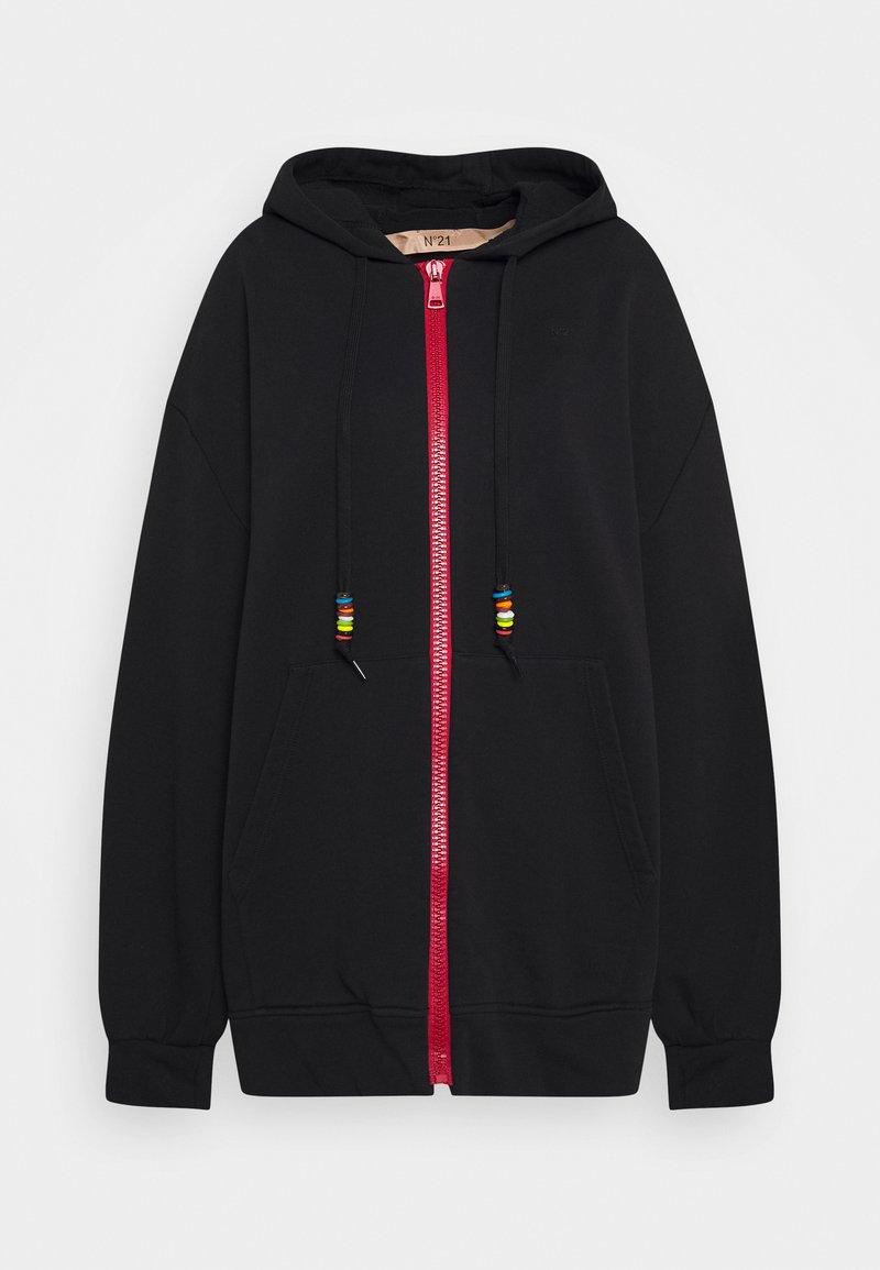 N°21 - Zip-up hoodie - black