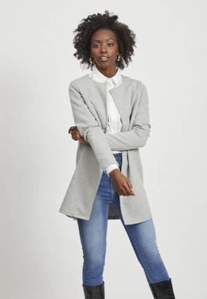 VINAJA NEW LONG JACKET - Giacca leggera - light grey melange