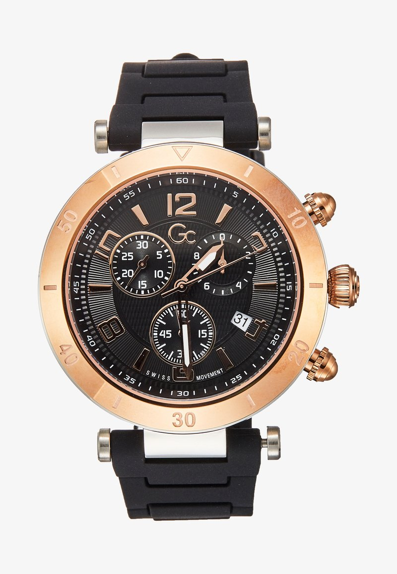 Gc Watches - PRIMECLASS - Hodinky se stopkami - black
