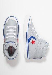 Converse - PRO BLAZE STRAP - Baskets montantes - wolf grey/blue/enamel red - 0