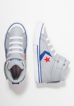 PRO BLAZE STRAP - High-top trainers - wolf grey/blue/enamel red