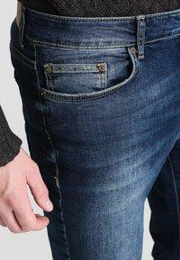 Pier One - Straight leg jeans - washed dark blue - 3