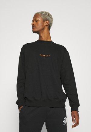 ESSENTIAL REGULAR UNISEX - Sweatshirt - black