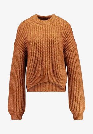 DONA CREW NECK - Pullover - inca gold