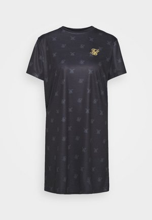 MONO T-SHIRT DRESS - Jersey dress - black
