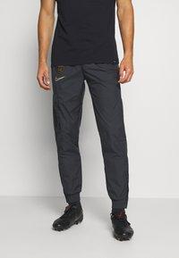 Nike Performance - PARIS ST GERMAIN PANT - Club wear - black/truly gold - 0