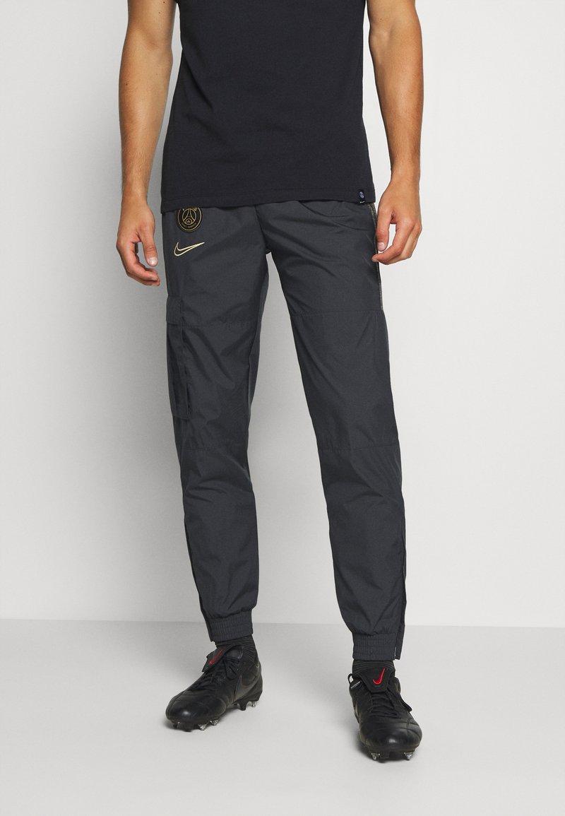 Nike Performance - PARIS ST GERMAIN PANT - Club wear - black/truly gold