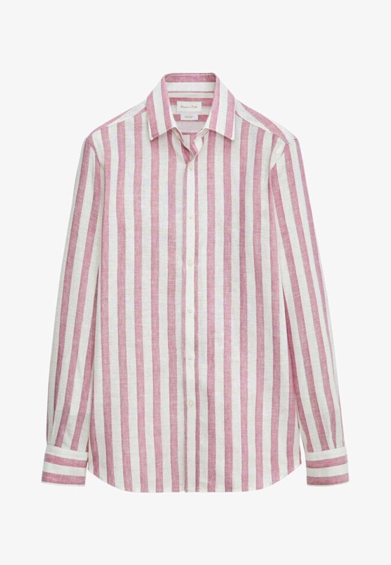Massimo Dutti - Shirt - bordeaux
