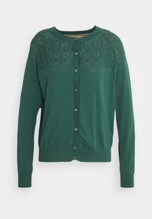 ESSENTIAL - Strickjacke - mallard green