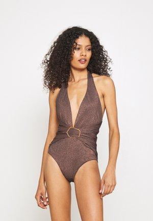 PALOMA PLUNGE - Swimsuit - black