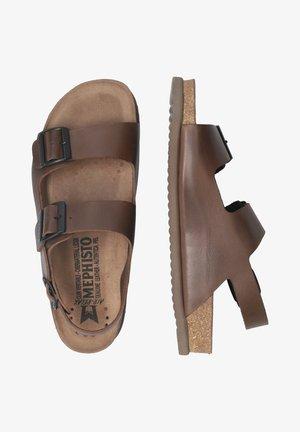 NARDO - Walking sandals - dark brown