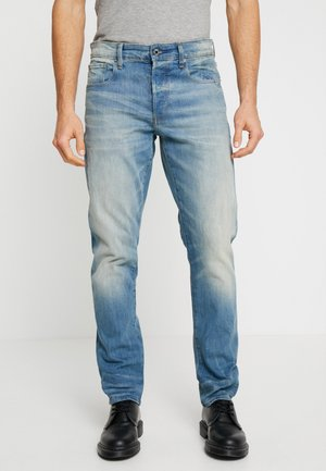 3301 STRAIGHT TAPERED - Džíny Straight Fit - cyclo stretch denim - light aged