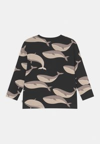 Lindex - MINI WHALE UNISEX - Long sleeved top - off black - 1