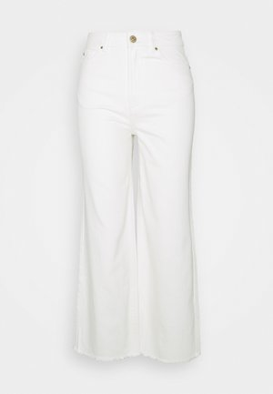 CROP - Relaxed fit jeans - offwhite