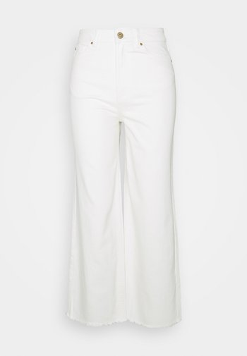CROP - Jeans baggy - offwhite