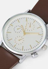 Pier One - SET - Watch - dark brown - 5
