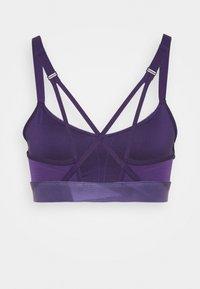 Reebok - STRAPPY BRA  - Light support sports bra - purple - 1