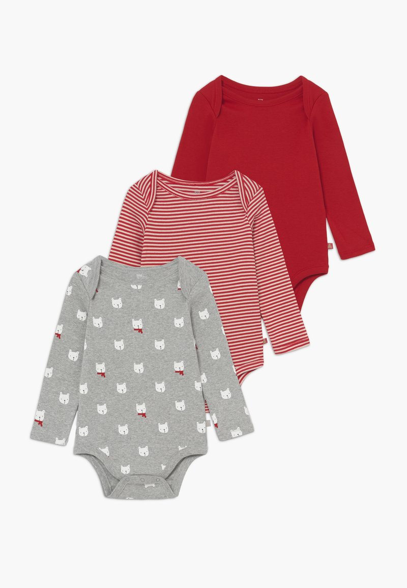 GAP - BEAR BABY 3 PACK - Body - modern red