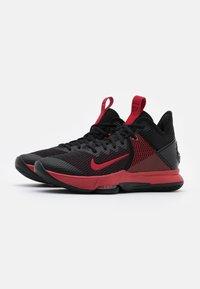 Nike Performance - LEBRON WITNESS IV - Scarpe da basket - black/gym red/university red - 1