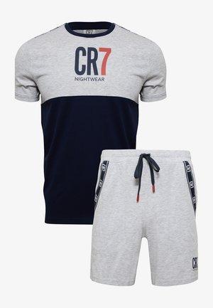 Pyjamas - grau/blau