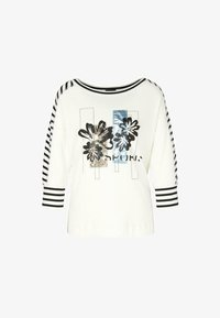 Marc Cain - MIT METALLIC-DETAILS - Long sleeved top - classic sand - 4
