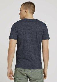 TOM TAILOR - Basic T-shirt - sailor blue grindle melange - 2