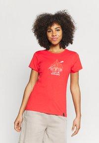La Sportiva - ALAKAY  - T-shirt con stampa - hibiscus - 0
