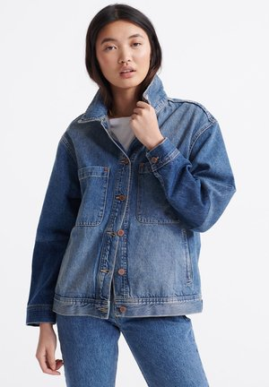 Denim jacket - denim indigo dark mid