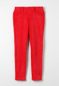 Benetton - TROUSERS - Kalhoty - red - 0