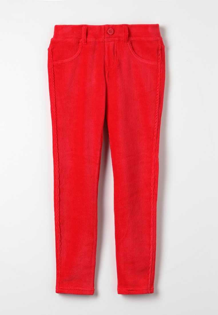 Benetton - TROUSERS - Kalhoty - red