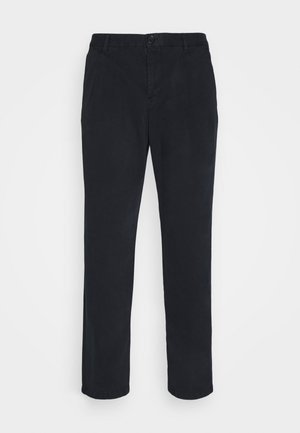 MENS DOUBLE POCKET - Chinos - dark blue