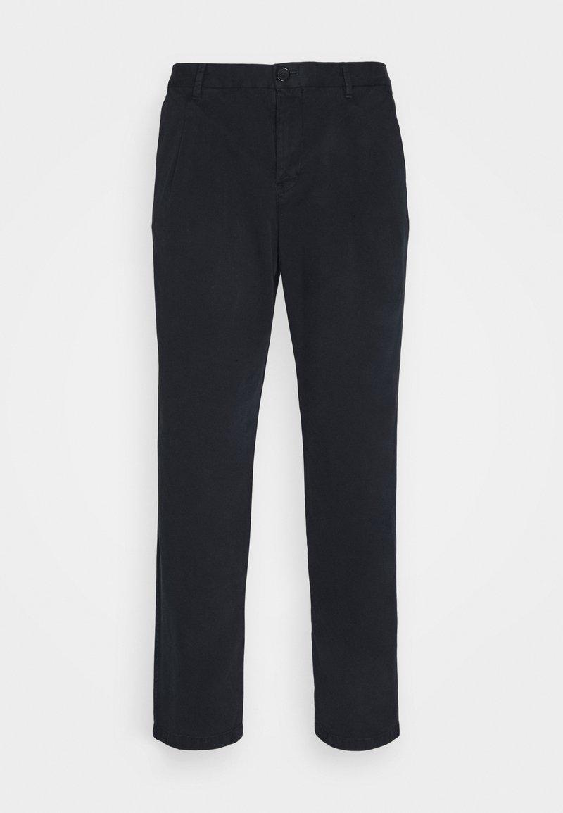 PS Paul Smith - MENS DOUBLE POCKET - Chino kalhoty - dark blue
