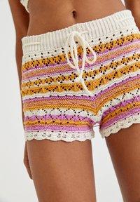 PULL&BEAR - Shorts - mottled beige - 4