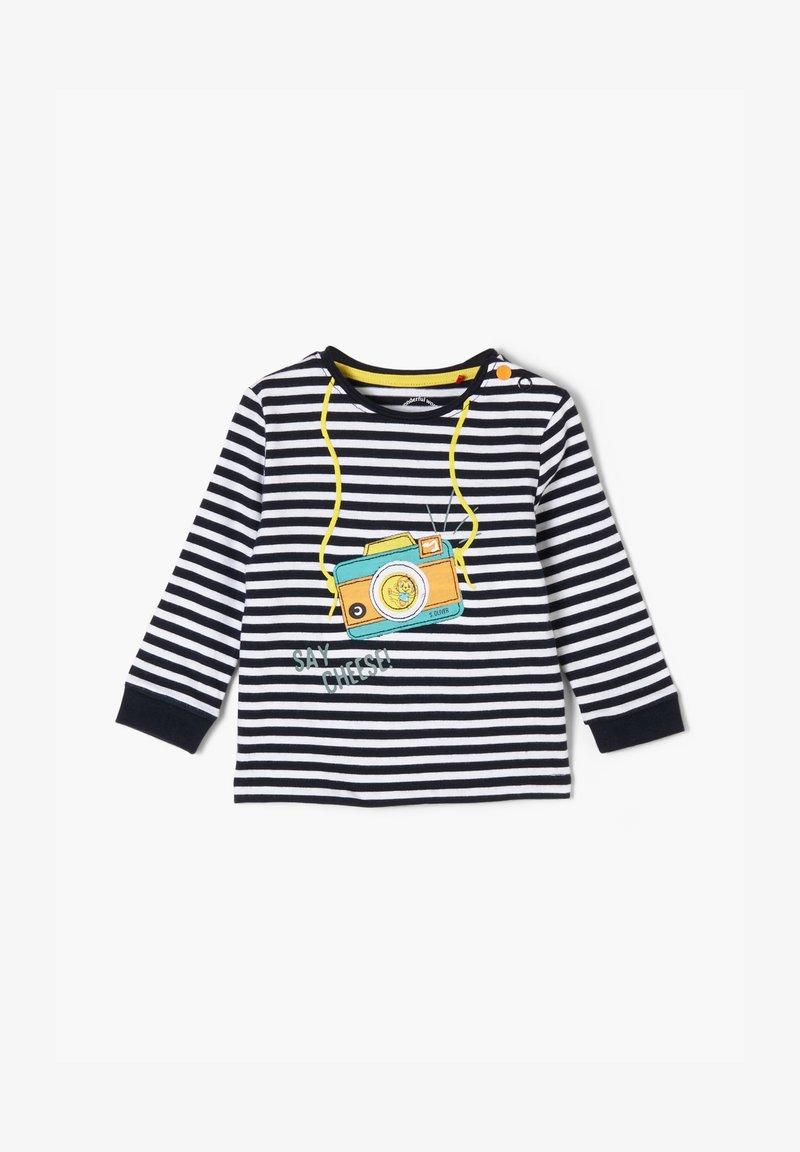s.Oliver - Long sleeved top - blue stripes