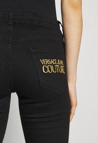 Versace Jeans Couture - Skinny džíny - nero - 5