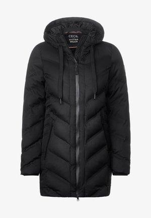 MIT STEPPUNG - Winter coat - schwarz