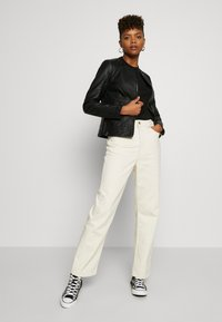 Weekday - ROWE - Jeans straight leg - ecru beige dusty light - 1